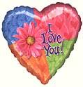 I Love You Daisy Balloon