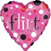 Happy Valentines Day Balloons - Flirt
