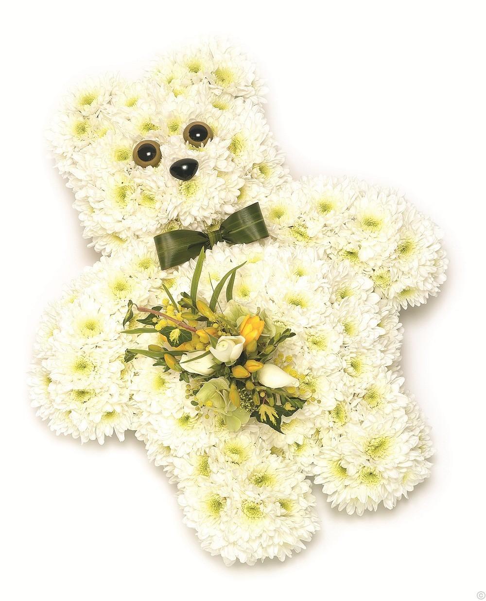 Funeral arrangements special tributes free delivery dublin ireland teddy bear funeral arrangement izmirmasajfo