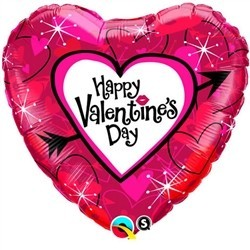 Vaalentines Day Balloon - Cupids Heart