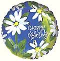 Cool Breeze Birthday Balloon