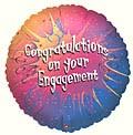 Engagement Congrats Balloon