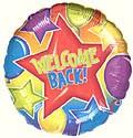 Festive Welcome Back Balloon