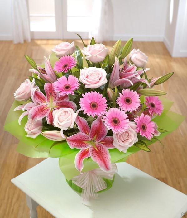 Lilies, Rose & Gerbera
