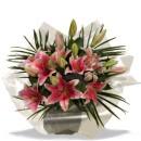 Stargazer Lilies Bouquet