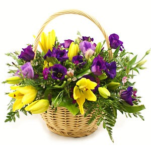 Seasonal Flower Basket