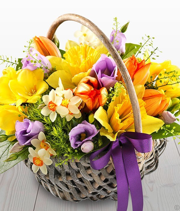 Spring Time Basket
