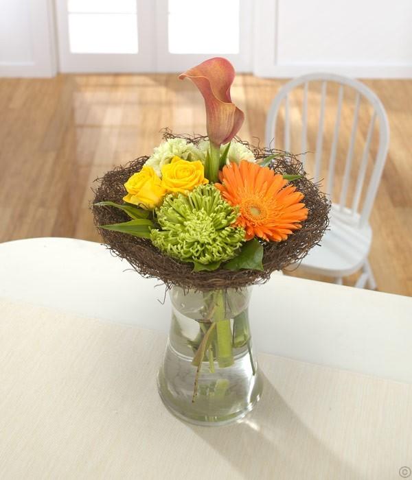 Vivid Vase Arrangement